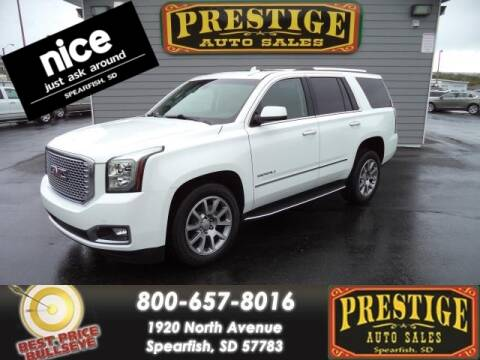 2017 GMC Yukon for sale at PRESTIGE AUTO SALES in Spearfish SD