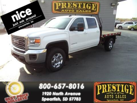 2018 GMC Sierra 3500HD for sale at PRESTIGE AUTO SALES in Spearfish SD