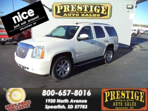 2014 GMC Yukon for sale at PRESTIGE AUTO SALES in Spearfish SD