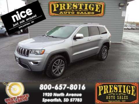 2017 Jeep Grand Cherokee for sale at PRESTIGE AUTO SALES in Spearfish SD