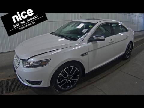 2019 Ford Taurus for sale at PRESTIGE AUTO SALES in Spearfish SD