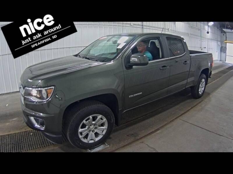 2018 Chevrolet Colorado for sale at PRESTIGE AUTO SALES in Spearfish SD