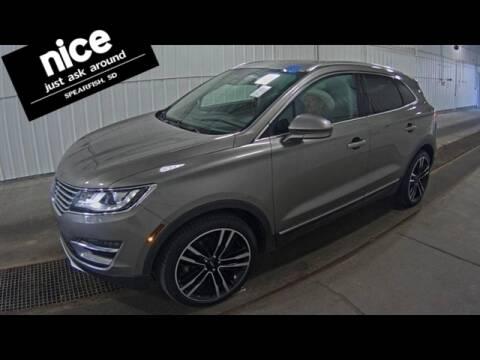 2017 Lincoln MKC for sale at PRESTIGE AUTO SALES in Spearfish SD