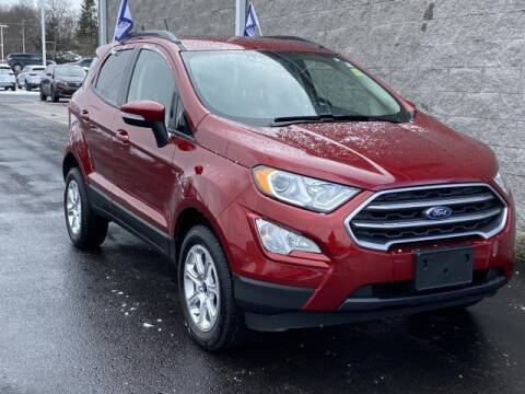 2019 Ford EcoSport SE for sale at Seelye Ford of Kalamazoo in Kalamazoo MI