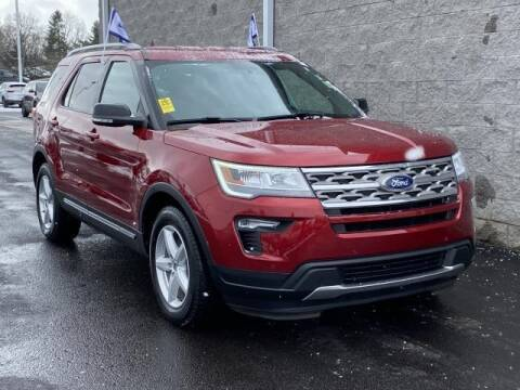 2018 Ford Explorer XLT for sale at Seelye Ford of Kalamazoo in Kalamazoo MI