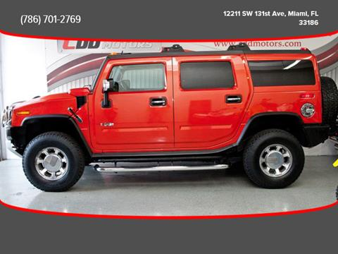 2008 HUMMER H2 for sale in Miami, FL