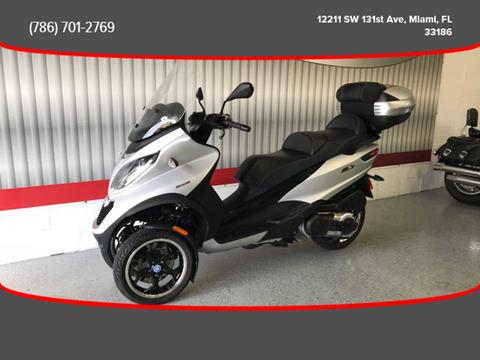 2016 Piaggio MP3 500 ABS Nero Carbonio for sale in Miami, FL