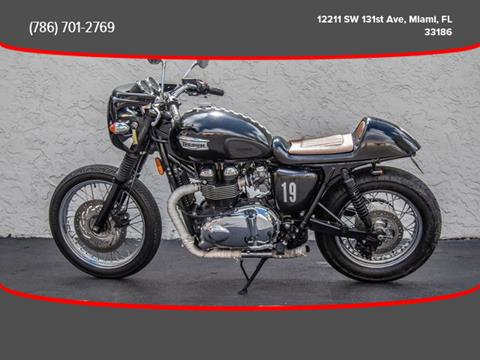 Used Triumph Bonneville For Sale In Florida Carsforsalecom