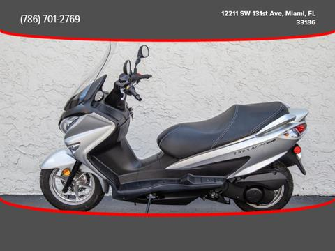 2014 Suzuki Burgman for sale in Miami, FL