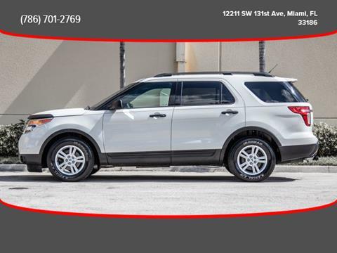 2012 Ford Explorer for sale in Miami, FL