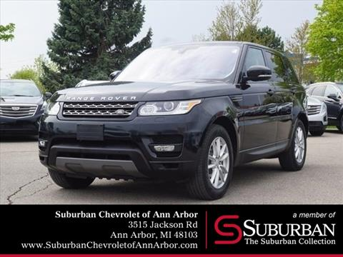 2016 Land Rover Range Rover Sport for sale in Ann Arbor, MI