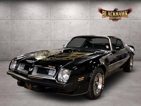 1975 Pontiac Trans Am for sale at Blackhawk Motors in Gurnee IL