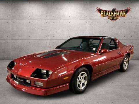 1989 Chevrolet Camaro IROC Z for sale at Blackhawk Motors in Gurnee IL