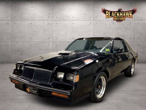 1986 Buick Regal T Type Turbo for sale at Blackhawk Motors in Gurnee IL