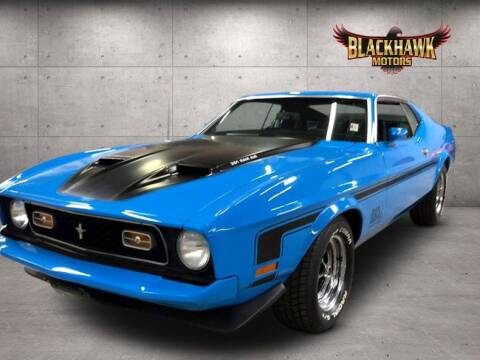 1973 Ford Mustang for sale at Blackhawk Motors in Gurnee IL