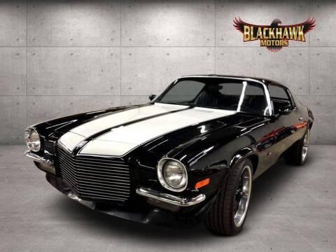 1971 Chevrolet Camaro for sale at Blackhawk Motors in Gurnee IL