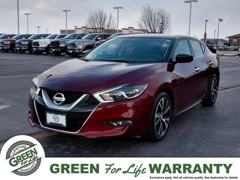 Green Nissan Springfield Il >> 2017 Nissan Maxima For Sale In Springfield Il