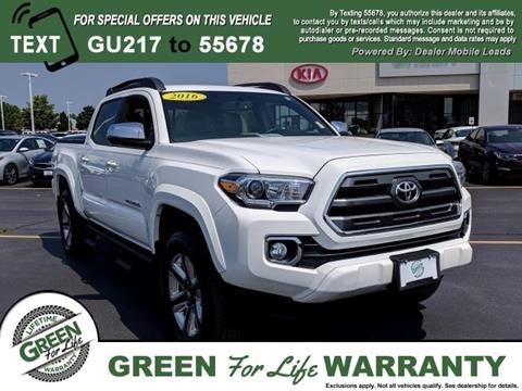Green Toyota Springfield Il >> 2016 Toyota Tacoma For Sale In Springfield Il