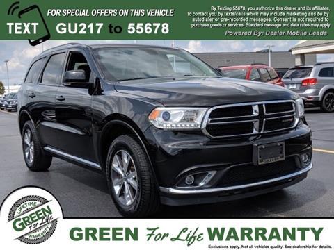 Green Dodge Springfield Il >> 2016 Dodge Durango For Sale In Springfield Il