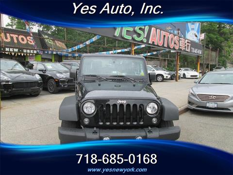 2015 Jeep Wrangler for sale in Elmhurst, NY