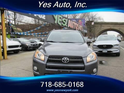 2012 Toyota RAV4 Sport for sale at Yes Auto in Elmhurst NY