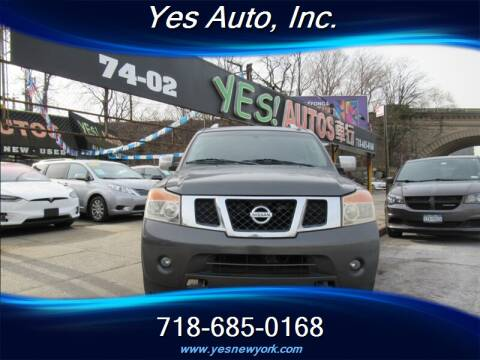 2011 Nissan Armada SL for sale at Yes Auto in Elmhurst NY