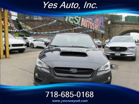 2017 Subaru WRX for sale at Yes Auto in Elmhurst NY