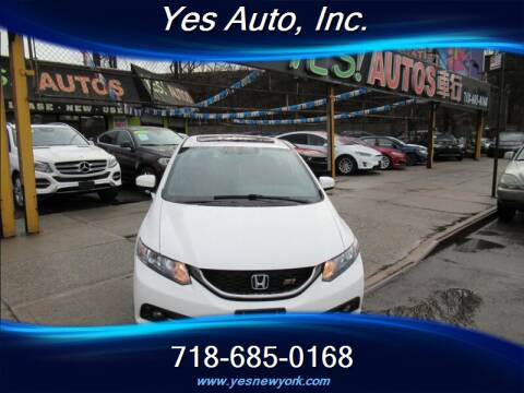 2015 Honda Civic Si for sale at Yes Auto in Elmhurst NY