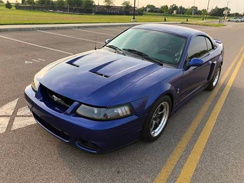 2003 Ford Mustang SVT Cobra for sale at Lifetime Automotive LLC in Middletown OH