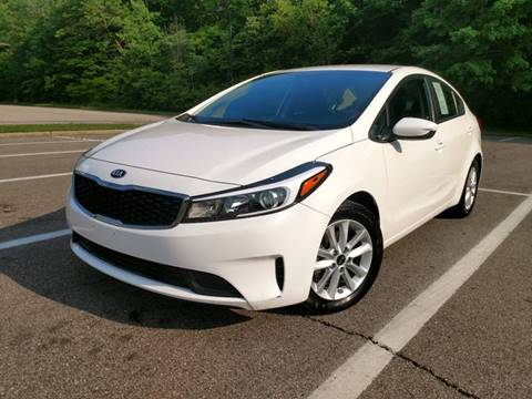 2017 Kia Forte for sale at Lifetime Automotive LLC in Middletown OH