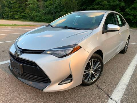 2017 Toyota Corolla for sale at Lifetime Automotive LLC in Middletown OH