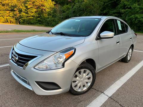 2017 Nissan Versa for sale at Lifetime Automotive LLC in Middletown OH