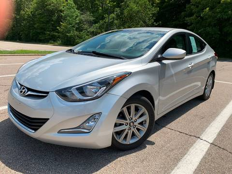 2015 Hyundai Elantra for sale at Lifetime Automotive LLC in Middletown OH