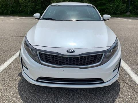2014 Kia Optima Hybrid for sale at Lifetime Automotive LLC in Middletown OH