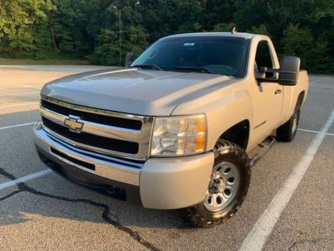 2009 Chevrolet Silverado 1500 for sale at Lifetime Automotive LLC in Middletown OH