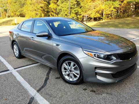 2017 Kia Optima for sale at Lifetime Automotive LLC in Middletown OH