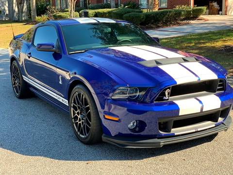 2013 Ford Shelby GT500 for sale at Lifetime Automotive LLC in Middletown OH
