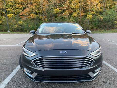 2017 Ford Fusion for sale at Lifetime Automotive LLC in Middletown OH