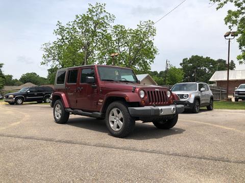 2008 Jeep Wrangler Unlimited for sale in Saint Francisville, LA