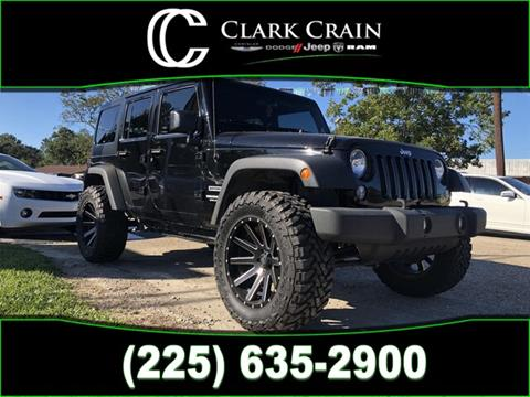 2017 Jeep Wrangler Unlimited for sale in Saint Francisville, LA