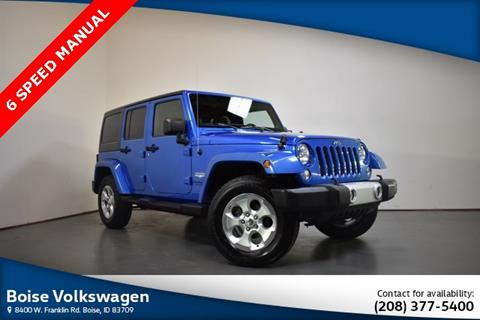2014 Jeep Wrangler Unlimited for sale in Boise, ID