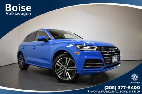 2020 Audi Q5 2.0T e quattro Premium Plus for sale at Volkswagen Audi Boise in Boise ID