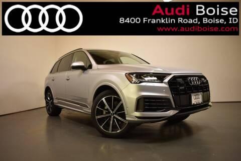 2020 Audi Q7 3.0T quattro Premium Plus for sale at Volkswagen Audi Boise in Boise ID