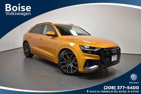 2020 Audi Q8 3.0T quattro Prestige for sale at Volkswagen Audi Boise in Boise ID