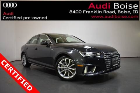2019 Audi A4 2.0T quattro Premium Plus for sale at Volkswagen Audi Boise in Boise ID