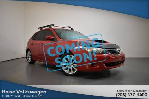 2008 Subaru Impreza WRX for sale at Volkswagen Audi Boise in Boise ID