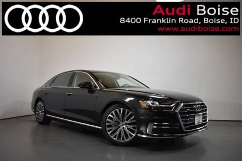 2019 Audi A8 L 3.0T quattro for sale at Volkswagen Audi Boise in Boise ID
