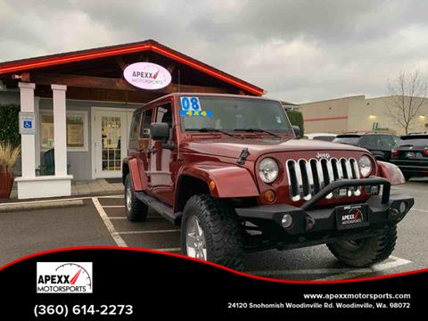 2008 Jeep Wrangler Unlimited for sale in Woodinville, WA