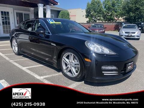 2010 Porsche Panamera For Sale In Woodinville Wa
