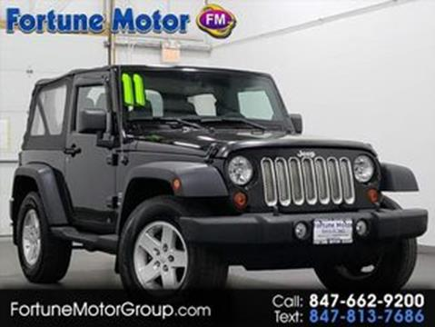 2011 Jeep Wrangler for sale in Waukegan, IL